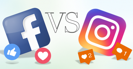 Instagram vs Facebook